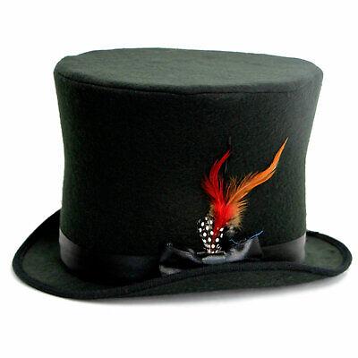 Charlie Browns Halloween Costume (Adult Bowler Top Hat Derby Charlie Chaplin Dickens Xmas Halloween Costume)