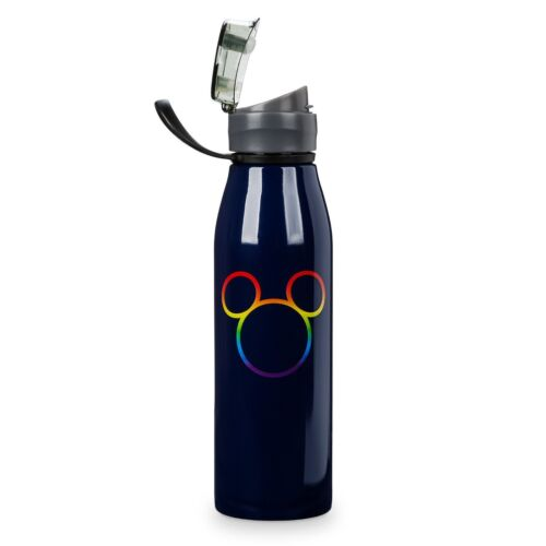 Disney Rainbow Mickey Collection Stainless Steel Water Bottle Gay Pride
