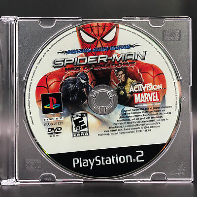 Spider-Man: Web of Shadows -- Amazing Allies Edition (PlayStation 2) *DISC