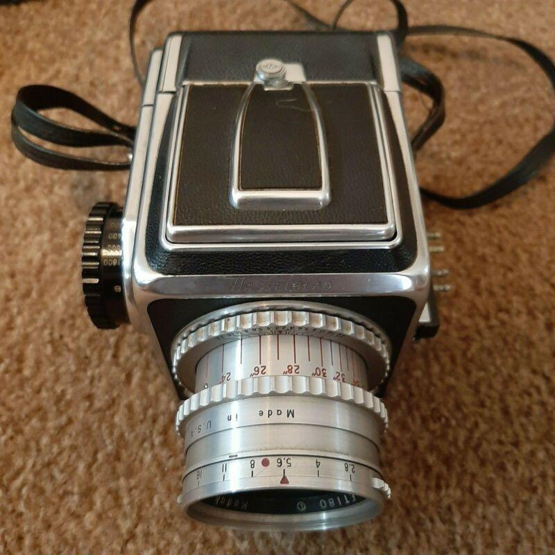Hasselblad 1600F   80mm f3.5 Ektar Lens   Hood Chimney Finder