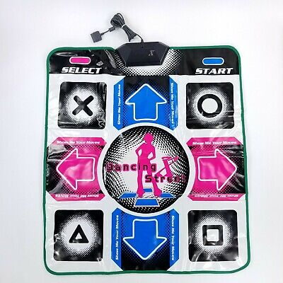 Dance Dance Revolution DDR Dance Pad Playstation 2 PS2 PlayStation 1 PS1 for sale  Shipping to India
