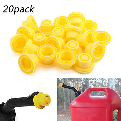 20xreplacement Yellow Spout Cap Top For Fuel Gas Can Blitz 900302 900092 900094.