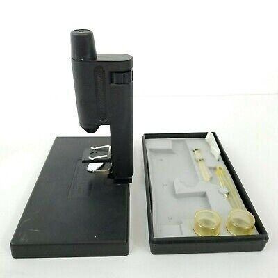Vintage Soviet Naturalist Field Microscope 1.55mm X60 Portable Box Accessories