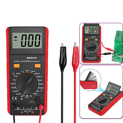 1999 Lcd Lcr Meter Circuits Capacitance Inductance Resistance Bm4070 Multimeter