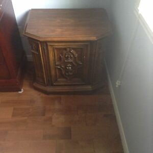 2 table de nuit antique