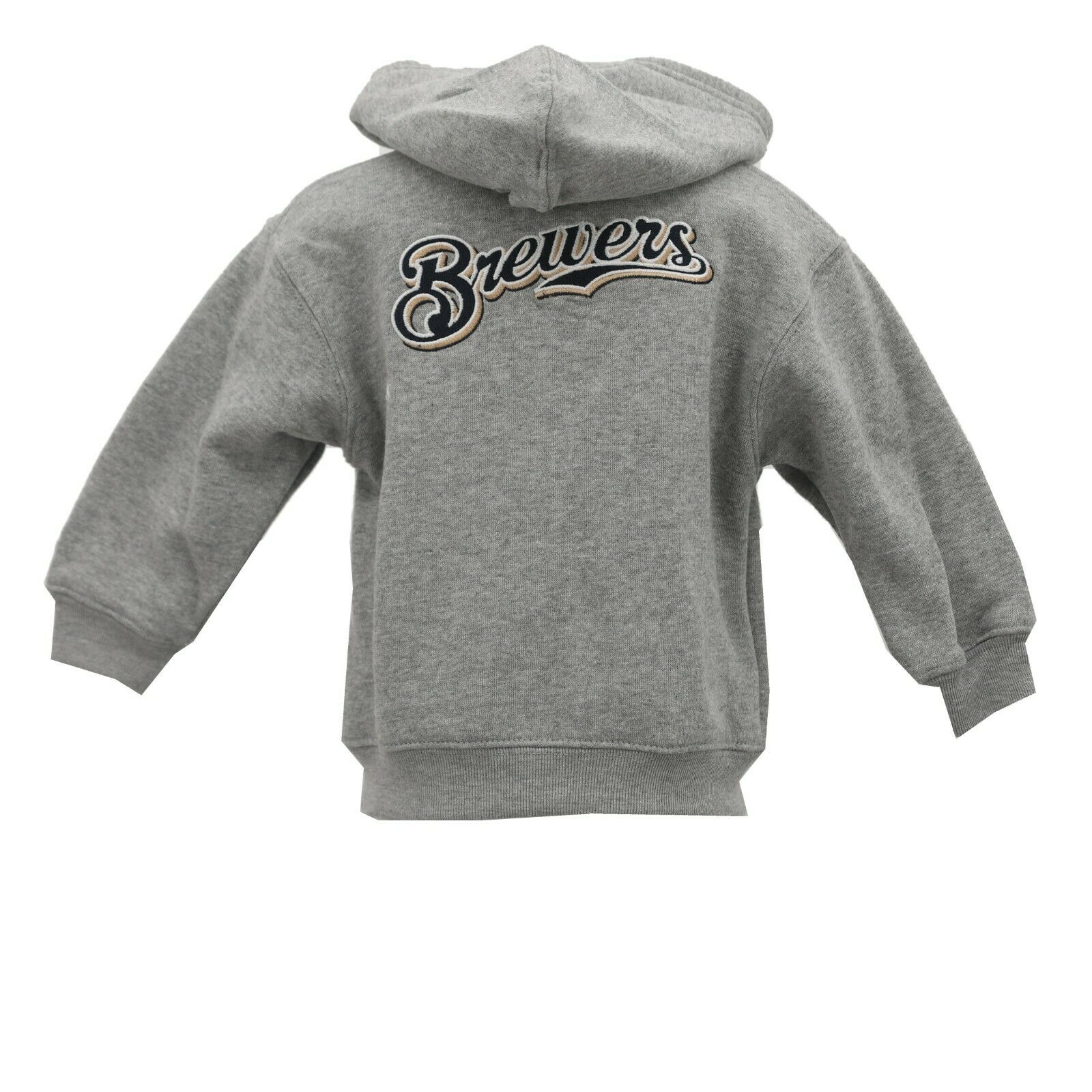 timeless design 6047f e0368 Details about Milwaukee Brewers Baby MLB Infant Toddler Girls Size Full Zip  Hooded Sweatshirt