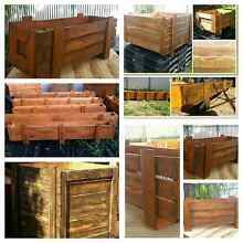 Recycled Timber crates - plant boxes/ storage Adelaide CBD Adelaide City Preview
