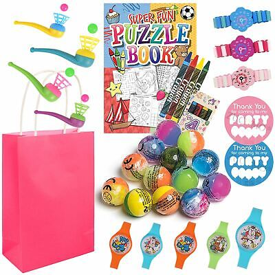 Girls Pre Filled Return Gifts Birthday Favour Party Gift Bags Fillers Kids Party - Birthday Return Gifts