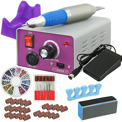 Professional Electric Nail Polisher File Drill Manicure Pedicure Machine Kit Set Electric Manicure Pedicure Nail