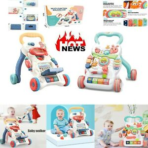 Baby Walker: Multi-Function Walker, Sit to Stand Waker, for Toddlers With Sound