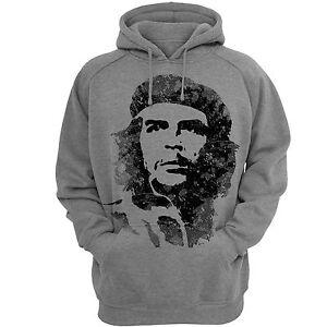 Hoodies-Che-Hooded-Sweatshirt-Mens-Hoodie-Gray-SweatShirts