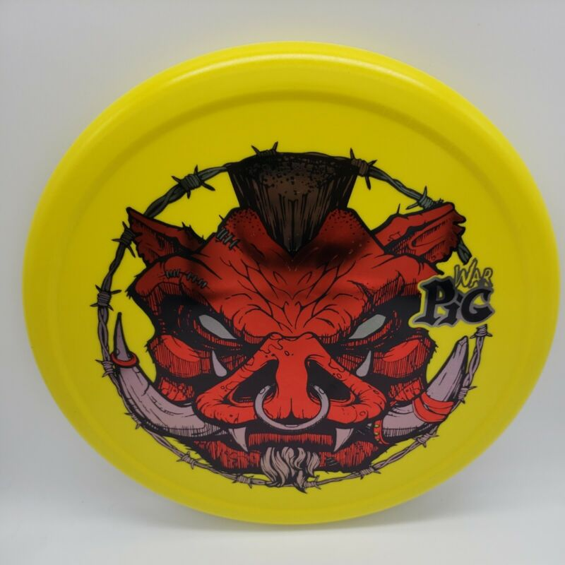 Innova War Pig R-Pro 3-Color Yellow/Red -Silver Stamp 175g