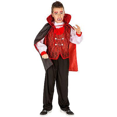 Kostüm Halloween Karneval Fasching Jungenkostüm Vampir  (Vampir Jungen Kostüm)