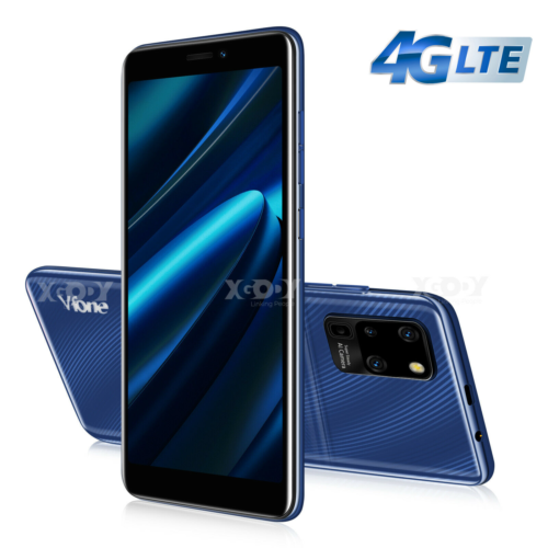 Android Phone - 4G LTE Smartphone Cheap Unlocked Android 9.0 Mobile Smart Phone Dual SIM 4 Core