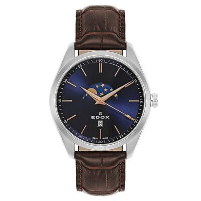 Edox Men's Quartz Watch 79018-3-BUIR