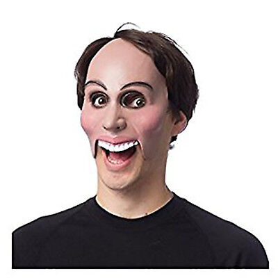 The Purge Creepy Masks (Purge Movie Scary Flesh Rubber Half Mask Party Eradicate Anarchy)