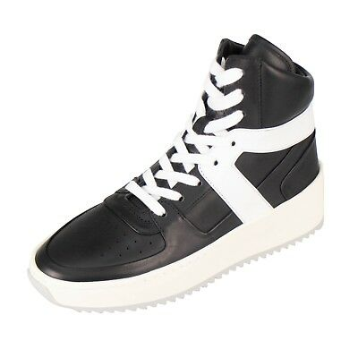 Basketball-high-top-sneakers (NIB FEAR OF GOD Black/White Basketball High-Top Sneakers Shoes 7/37 $1000)