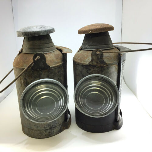 Railroad lanterns--Candle Powered