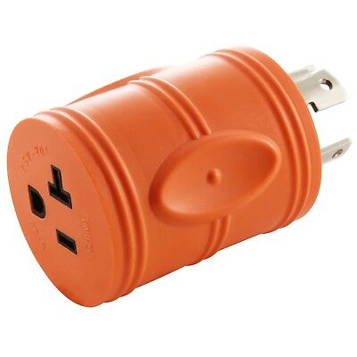 Generator Outlet Adapter Nema L14-30p To 20 Amp Nema5-20r By Ac Works