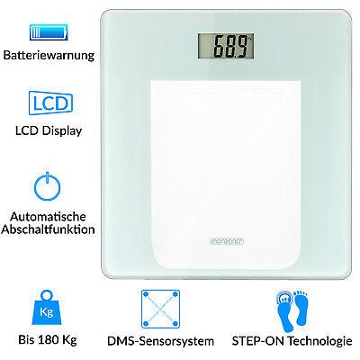 Badezimmer Waage (monzana® Waage Personenwaage Körperwaage Digital Gewichtswaage Badezimmer 180kg)
