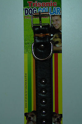 """High Quality"" Black Durable Dog/Pet Collar Big/Large Size"