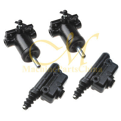 2pk Kit Brake Master Slave Cylinder For Case Backhoe 480c 580c