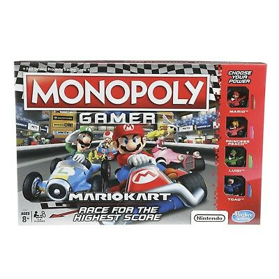 Monopoly: Gamer Mario Kart Edition Board Game -Inspired By Mario Cart Game (Nintendo Monopoly)