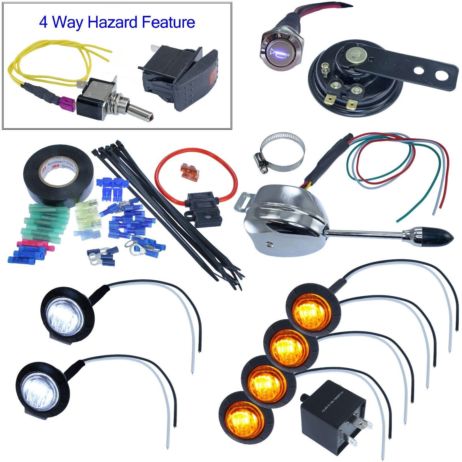 LED column lever LED turn signal kit for Polaris Ranger RZR SXS UTV