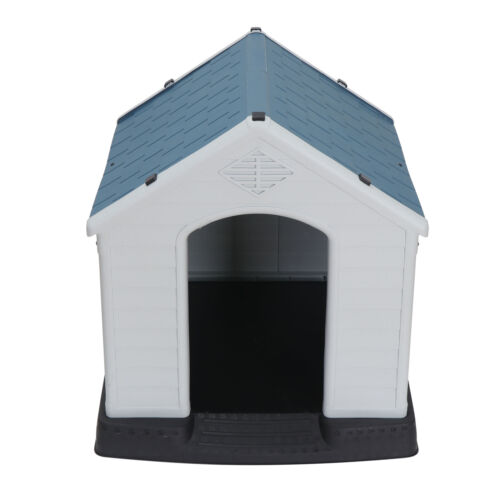 2X Design Dog House Shelter Easy to Assemble Perfect for Backyards All-Weather Dog Houses