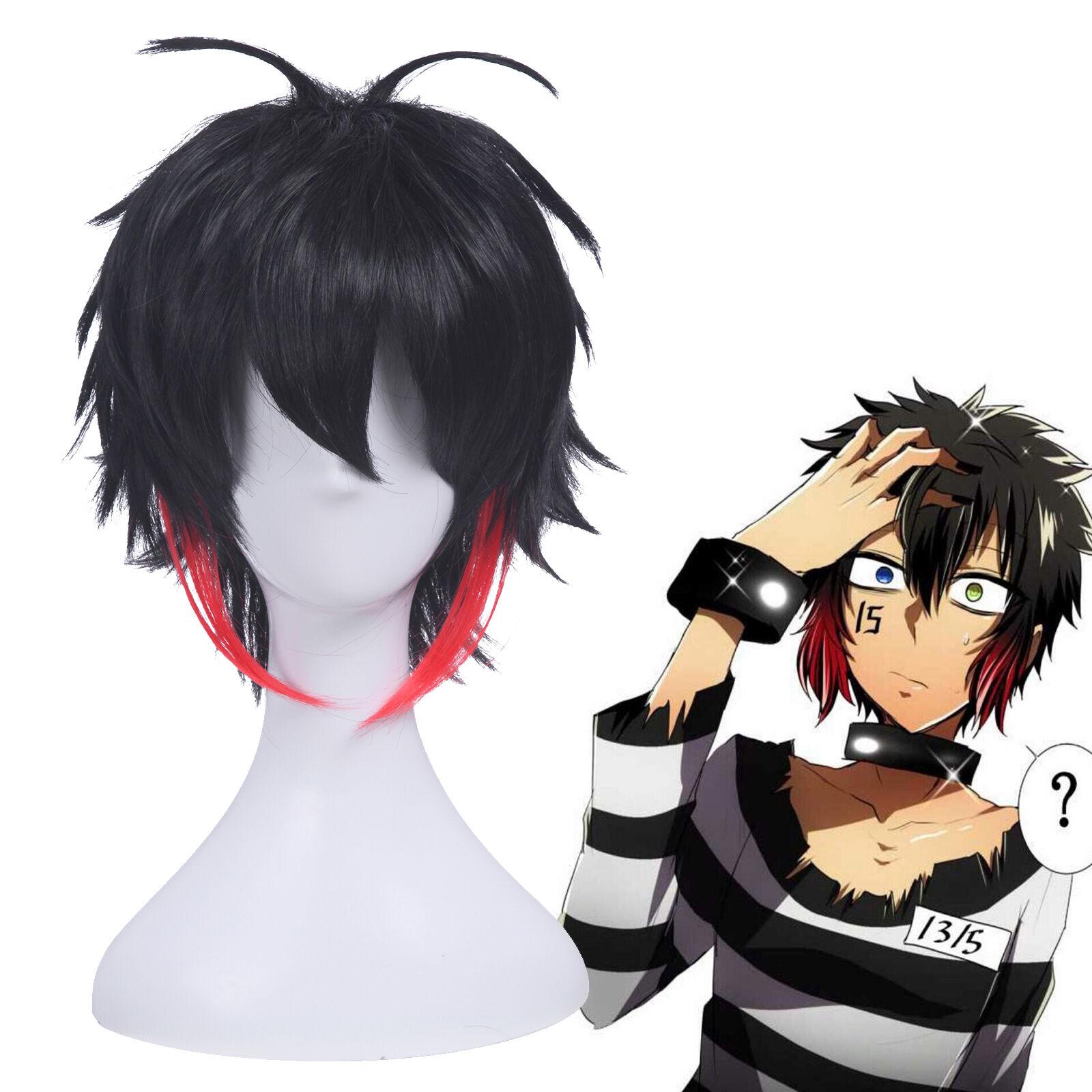 Cap Nanbaka Detentionhouse Jyugo No 15 Anime Costume Cosplay Wig Track Number