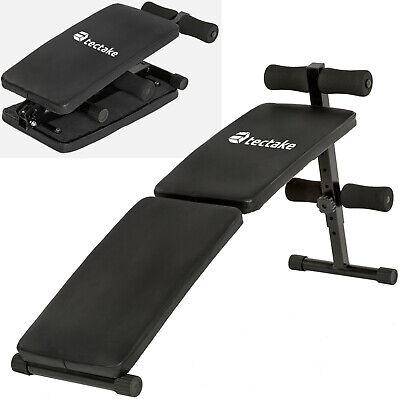 Banc de musculation pour abdominaux appareil de fitness sport pliable nouveau