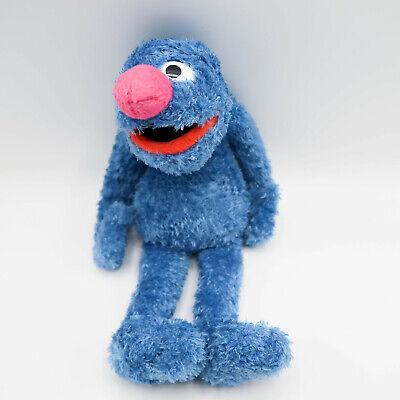 "Sesame Street Place Grover 12"" Plush Soft Toy Stuffed Animal Blue"