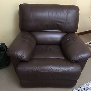 Demir Leather Large Single Recliner Belmore Canterbury Area Preview