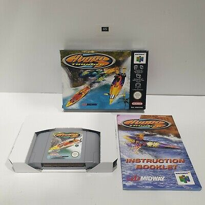 HYDRO THUNDER Nintendo 64 N64 RARE Game Boxed Complete PAL seller oz65