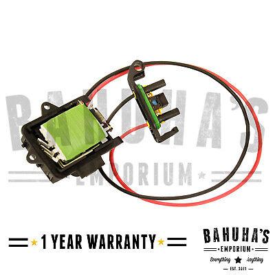 Vauxhall Vivaro Renault Trafic Primastar Blower Fan Motor Heater Resistor