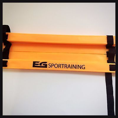 Speed Agility Ladder 12 Rungs Quality Soccer Durable Adjustable