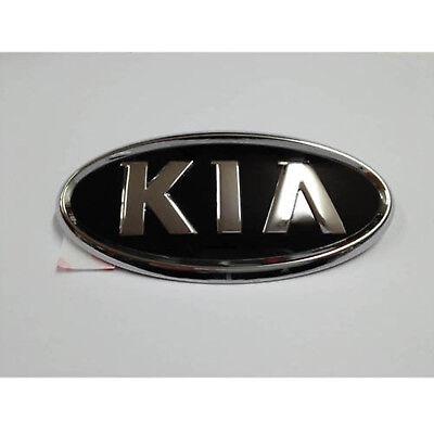 86320 1W100 Genuine KIA Logo Front Hood Grille Emblem For 2012 2014 KIA Rio