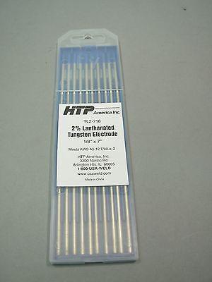10 2 Lanthanated Tungsten Tig Electrode 18 X 7 Blue
