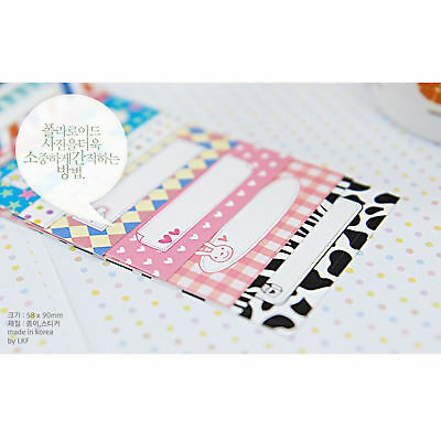 100PCS Message Memo Pattern Films Sticker For FujiFilm Instax Mini 8 7s 25 50s