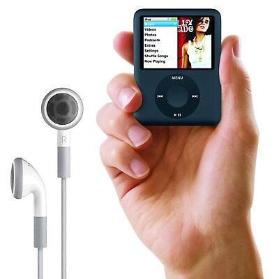 16GB MP3 MP4 Players Portable Slim Music Media Movie FM Radio Video Game Black