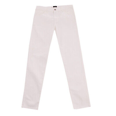 RRP €210 N 21 Trousers Size 44 / 14Y / 164-170CM Stretch Zip Fly Made in Italy