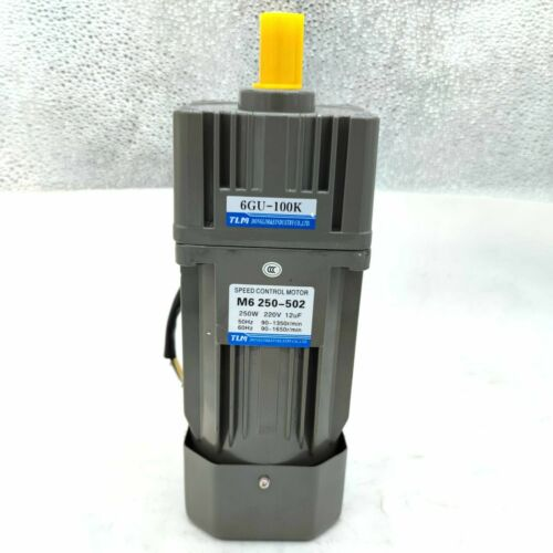 250W 110/220V AC Induction Gear Speed Control Motor with US-52 controller