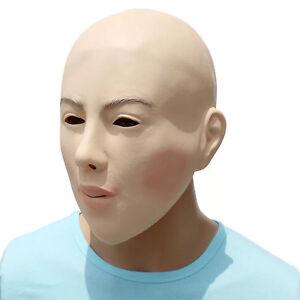 Glamour women Latex Mask Fancy Dress Halloween Costume Living Dolls Dress Up