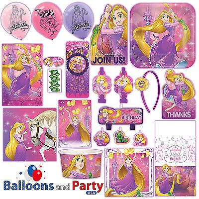 Disney Princess Rapunzel Dream Big Tangled Party Tableware Decorations Supplies - Disney Princess Party Decor