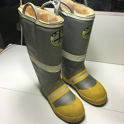 Aircraft Rescue Fire Fighter Boots Arff Firefighter Turn Out Fireman 6.5