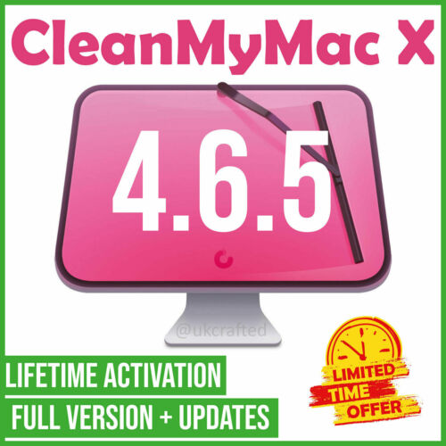 CleanMyMac X 4.6.5 Full + updates ✔ 2020 🔐 LIFETIME ACTIVATION ✅ FAST DELIVERY