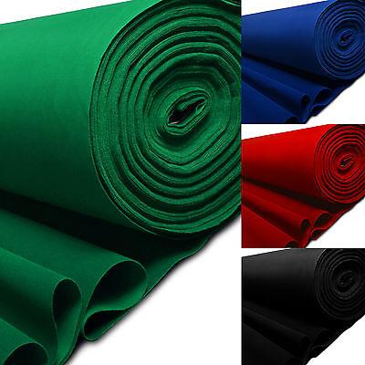1 - 5 Metre Baize Soft Felt Fabric Lining Cloth For Poker, Art & Craft Material