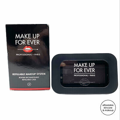 NEW Makeup Forever MUFE Refillable Makeup System Palette Small