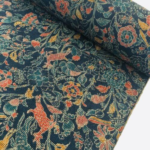 Paradise Silk Wool UnUsed Bolt BY THE YARD Japanese Kimono Fabric Panel BS94