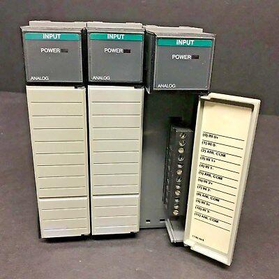 Allen Bradley 1746-ni4 1746-n14 Ser A Slc 500 Input Module Analog Late Model Plc